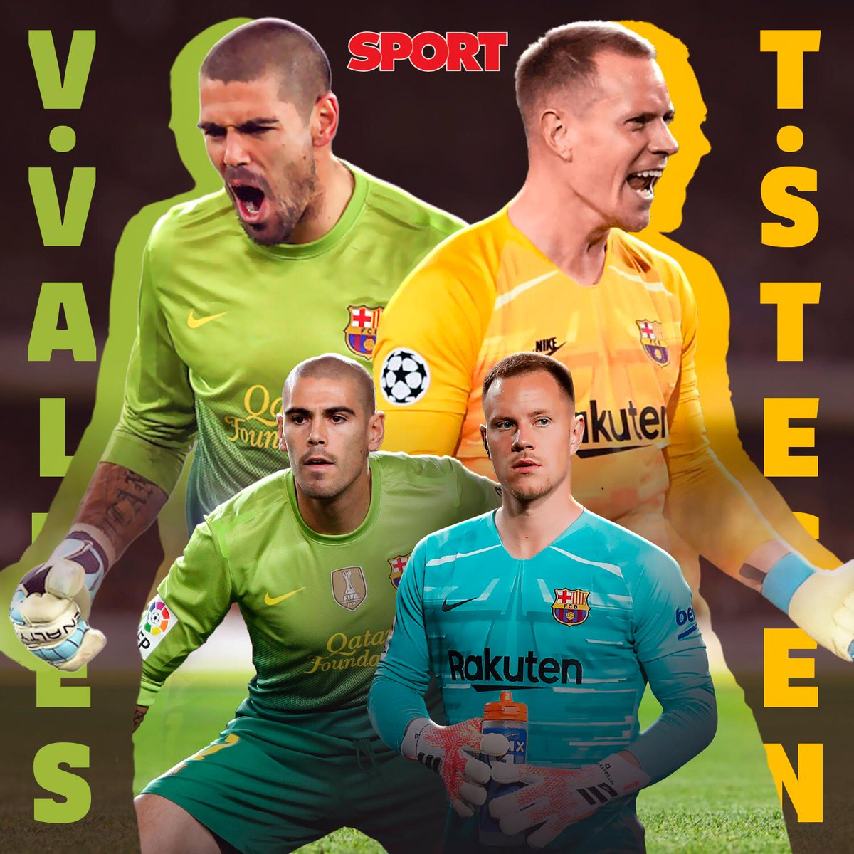 RT @sport: 🥺 Hoy en decisiones difíciles...  🧐 ¿Valdés o Ter Stegen? 🔵🔴  ❤️ Ter Stegen 🔄 Valdés https://t.co/guMf7HlG2L