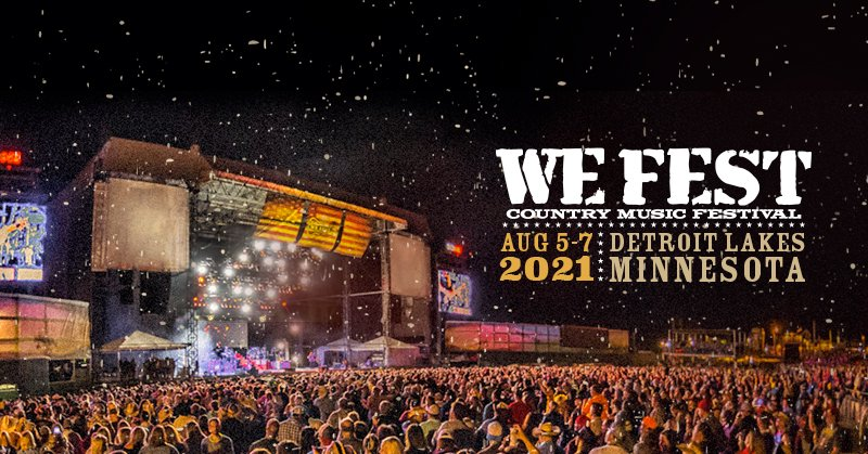 Save the dates, y'all.  #WEFest2021