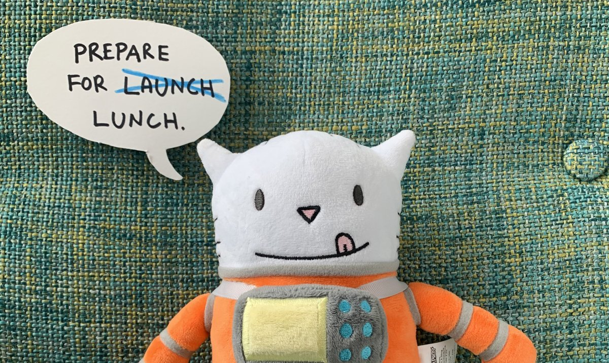 Replying to @thebrockart: PRE-ORDER FOR #CatStronauts WAFFLES PLUSH IS NOW LIVE!
