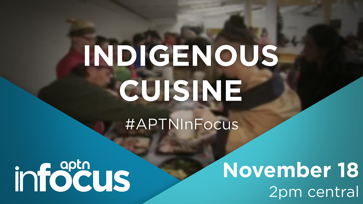 Join host Melissa Ridgen this Wednesday on InFocus as she discusses what foods were here before contact, despite settlers claiming they introduced them. Director of the National Museum of the American Indian Kevin Gover enlightens us.