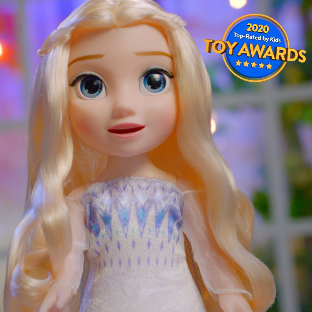 If you have a case of the Mondays, singing along with the #Disney #Frozen2 Magic in Motion Elsa will help cheer you up!🥰❄️ #WalmartToyAwards https://t.co/0m4MGvOgpC https://t.co/0WAdFTbTVw