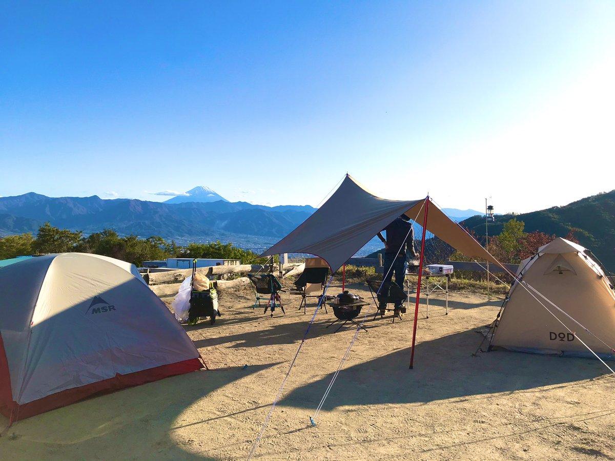 ダイノジサイト ほったらかしキャンプ場
