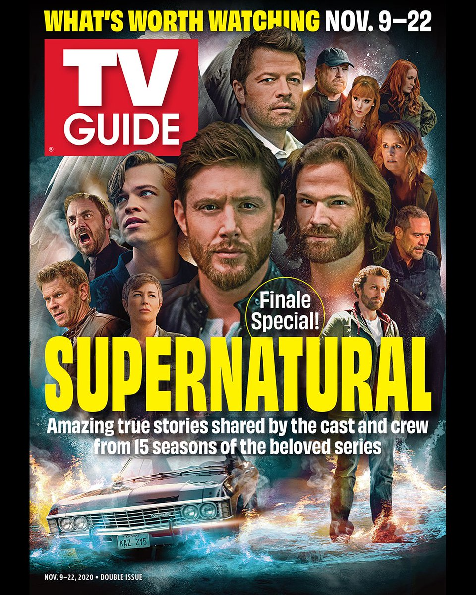 Replying to @cw_spn: Check out @TVGuideMagazine's #Supernatural cover for the series finale!