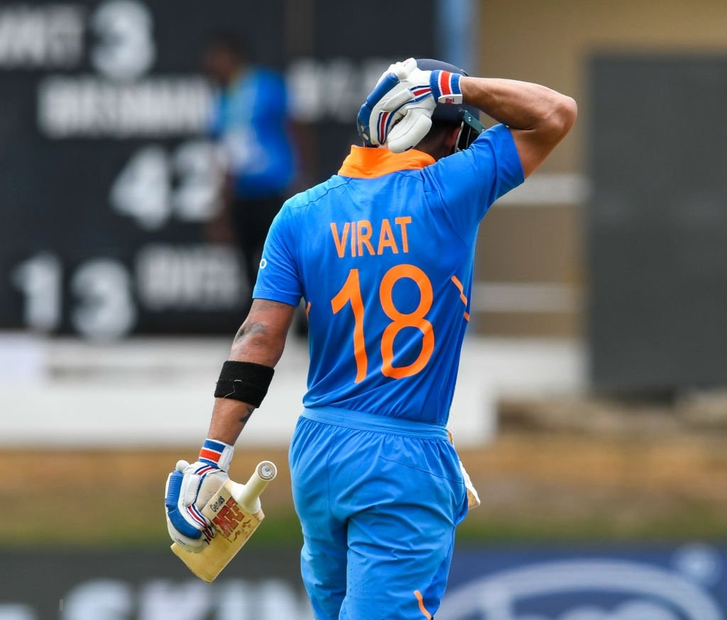 Virat Kohli- Fastest batsman to amass 10,000 runs in ODI
