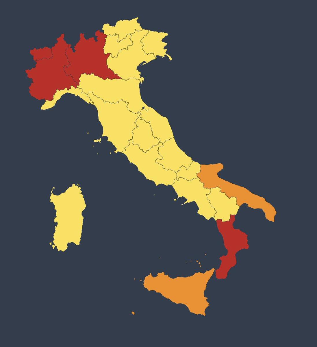 Veneto Cartina Italia