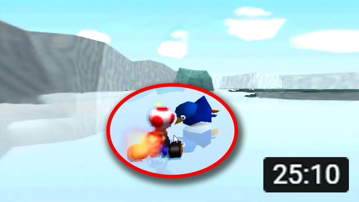 RWhiteGoose - Great news, everyone! I just uploaded a brand new video about the INCREDIBLE shortcut discovery in Mario Kart 64's SHERBET LAND; the first ever discovered on the stage in 24 yrs!    Absolutely astonishing, truly remarkable, you don't want to miss this one!