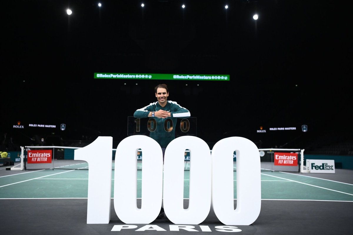 @RafaelNadal Simply the greatest of all time