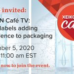 Image for the Tweet beginning: This @Xeikon Café event will