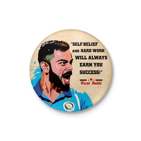 It s an honor that the batsman in this world is Virat Kohli King of Cricket. Happy birthday Run Machine