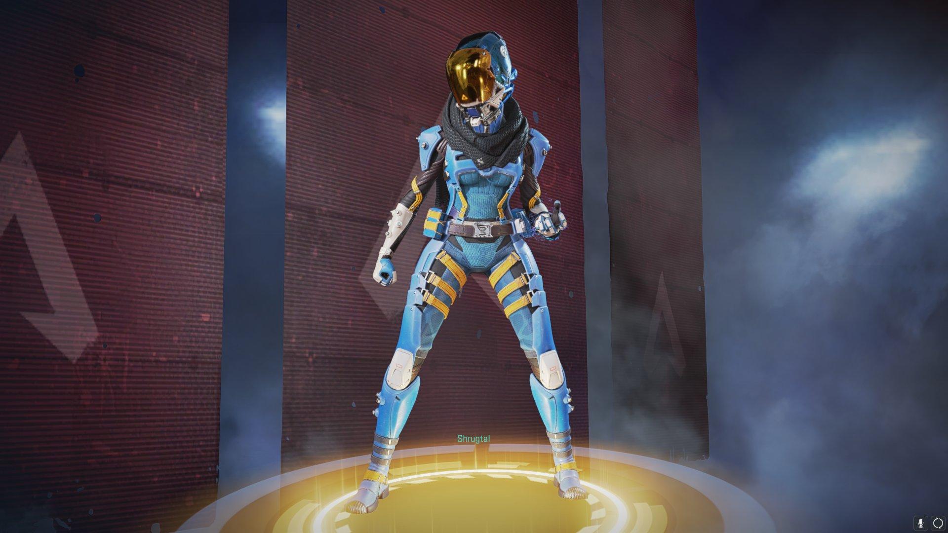 "All-blue variant of ""Phasewalker""."