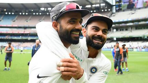 Happy birthday @imVkohli 🎂 Here's to great conversations, fun off the field and recreating great memories together on the field!