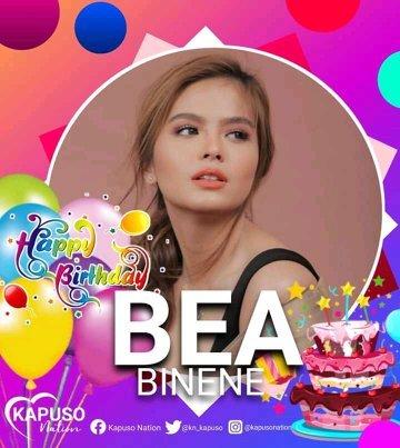 Happy Birthday Bea Binene?