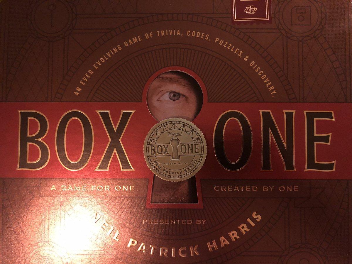 So. Cool. @ActuallyNPH @theory11 #boxone #theory11