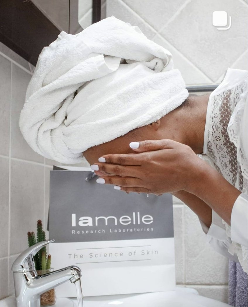Ageing is beautiful, if you take care of your skin!  @lamelleSA Dermaheal foaming gel cleanser does the trick🥰  #Lamelle #Creatingconfidence  #MrsSA2020 #MrsSATop50 #GRWM