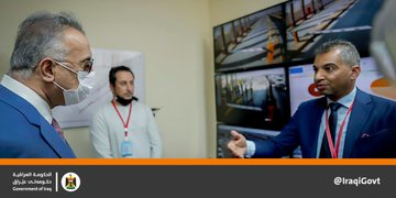 PM  @MAKadhimi  visits Um Qasr Port in Basra and inaugurates the new electronic unified EmD4iFjXYAEwnl-?format=jpg&name=360x360