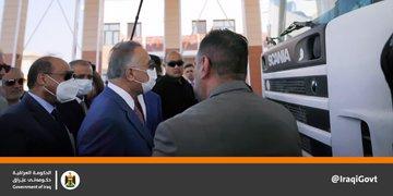 PM  @MAKadhimi  visits Um Qasr Port in Basra and inaugurates the new electronic unified EmD4nHSWMAEY1yj?format=jpg&name=360x360
