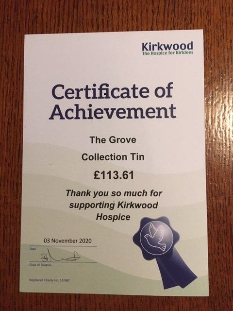 test Twitter Media - Some good news, we have just had our Kirkwood Hospice collection box emptied, and thanks to all of you who contributed, £113.61 has been raised 😍 #huddersfield https://t.co/rVsrc39DUI