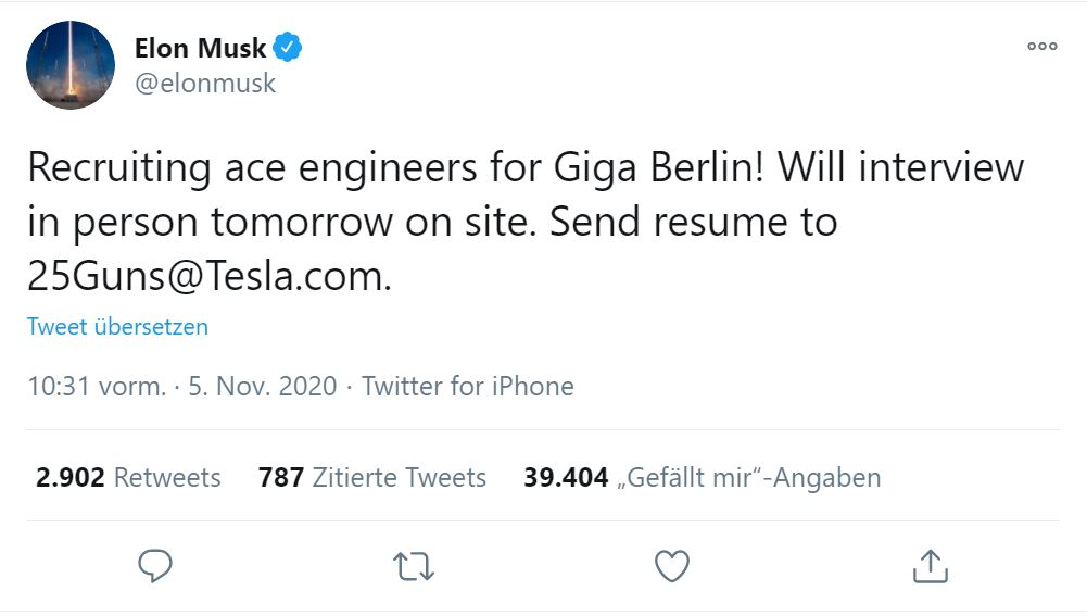 Tesla Gigafactory Berlin Auto Und Akkuwerk