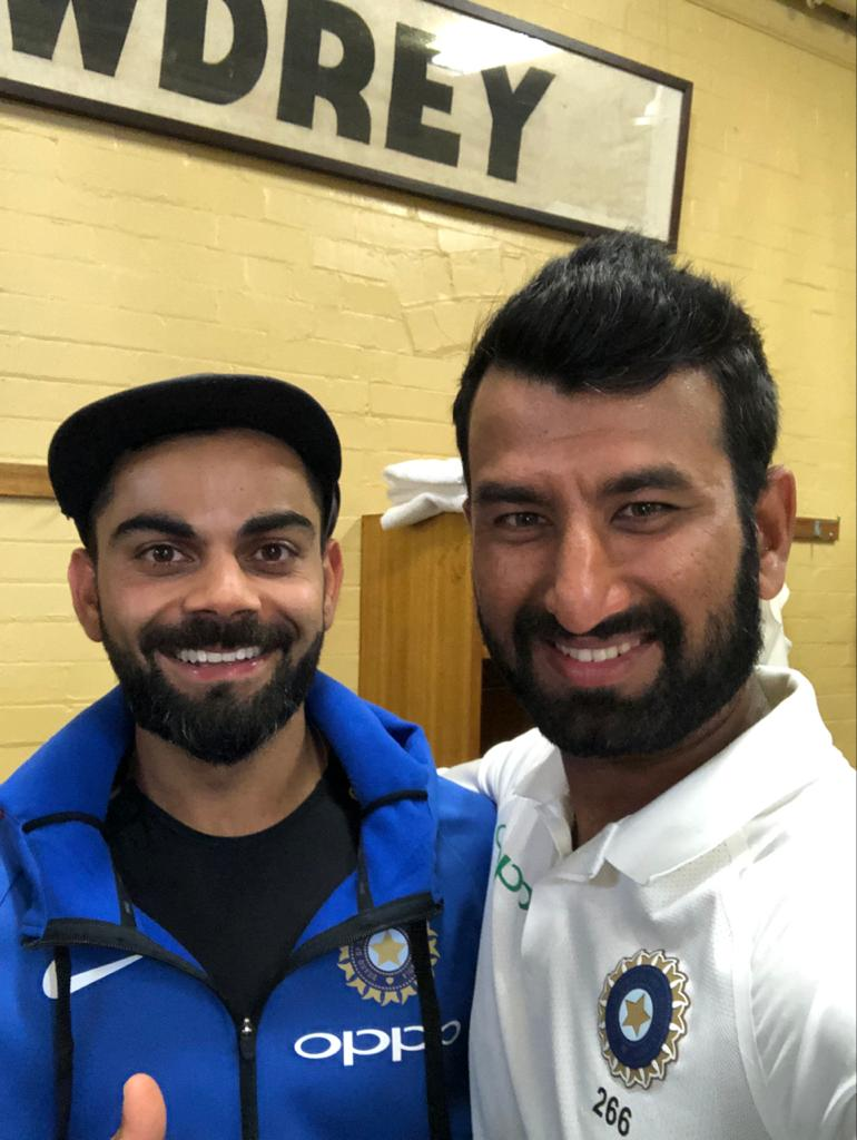 Happy birthday @imVkohli! Wishing you much success, good health and plenty more runs this year!  Best of luck with the playoffs 👍