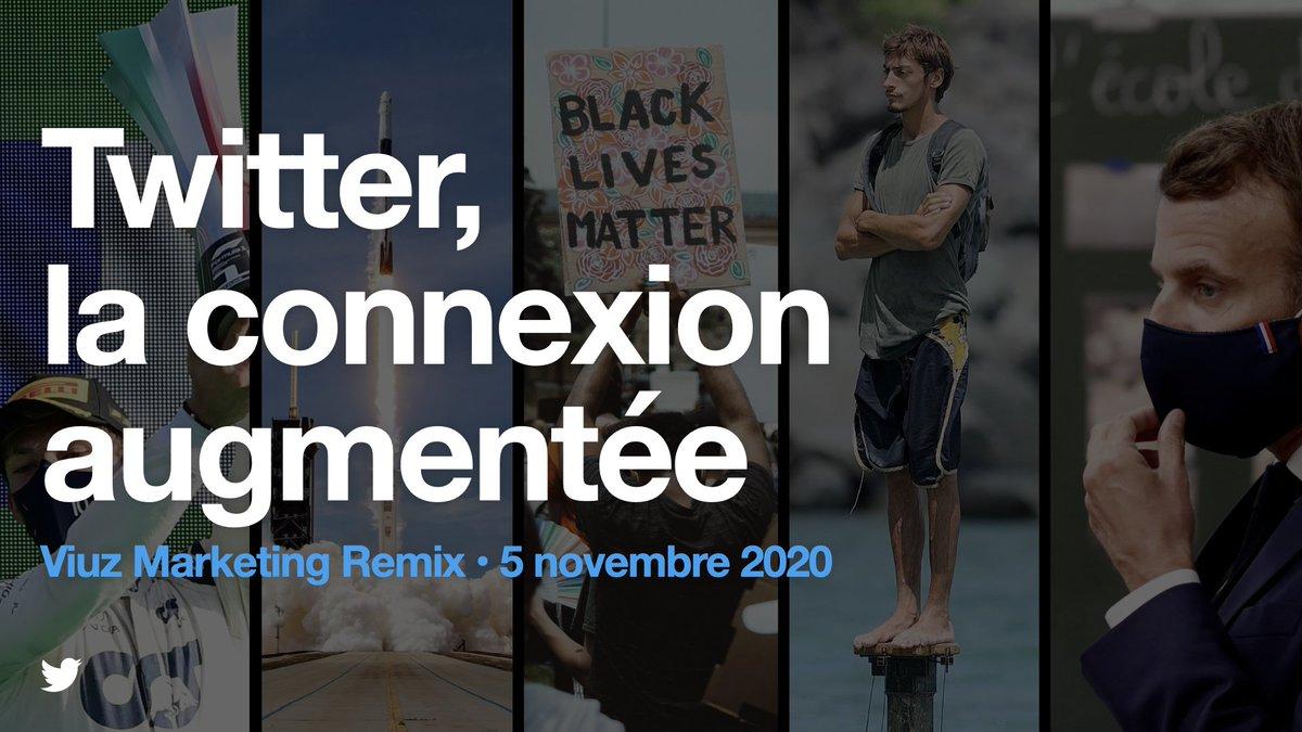 """""""Twitter, la connexion augmentée""""  🎙 @damienviel ouvre ce matin l'événement #MarketingRemix de @viuzfr   ⬇️ ⬇️ ⬇️"""