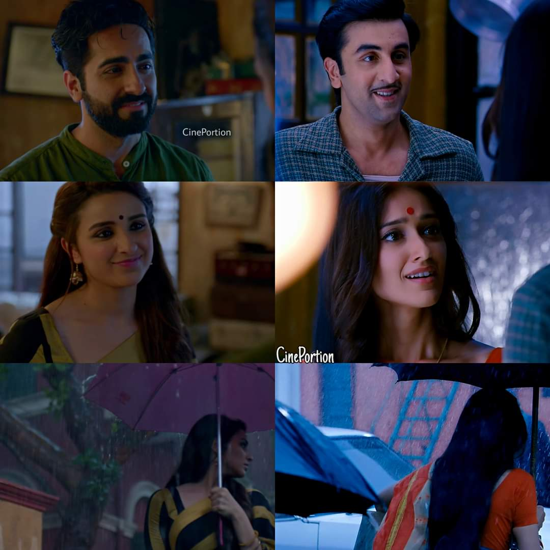 Sometimes, you come across someone unforgettable.Not because how they were,but because how deeply they made you  their scent lingered,even when your paths no longer aligned 🖤  #MeriPyaariBindu × #Barfi ✨❤️
