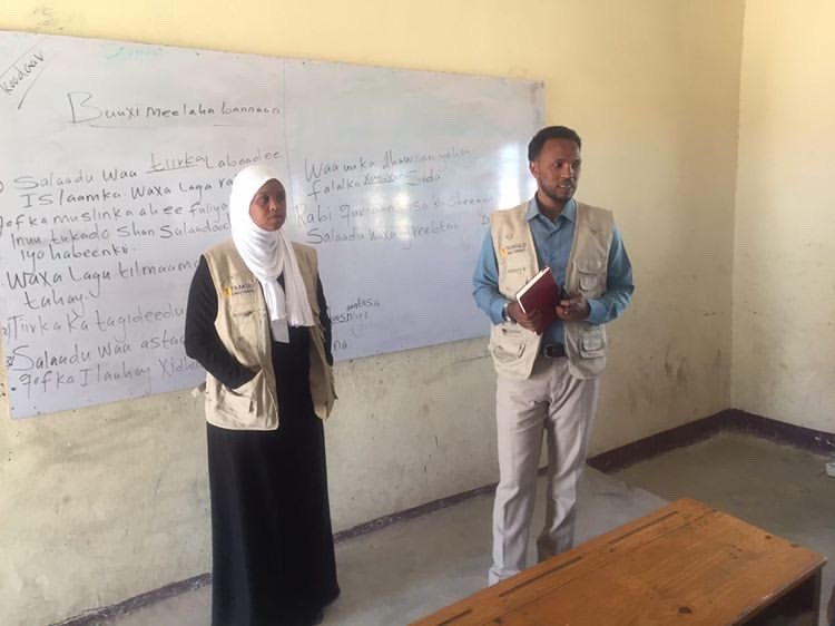 #TAAKULO , school principals and the contracted company inspected the three schools selected for the COVID19 prevention activities for the installation of body sanitizer tunnels.@PlanUK #planinternational @decappeal #decappeal