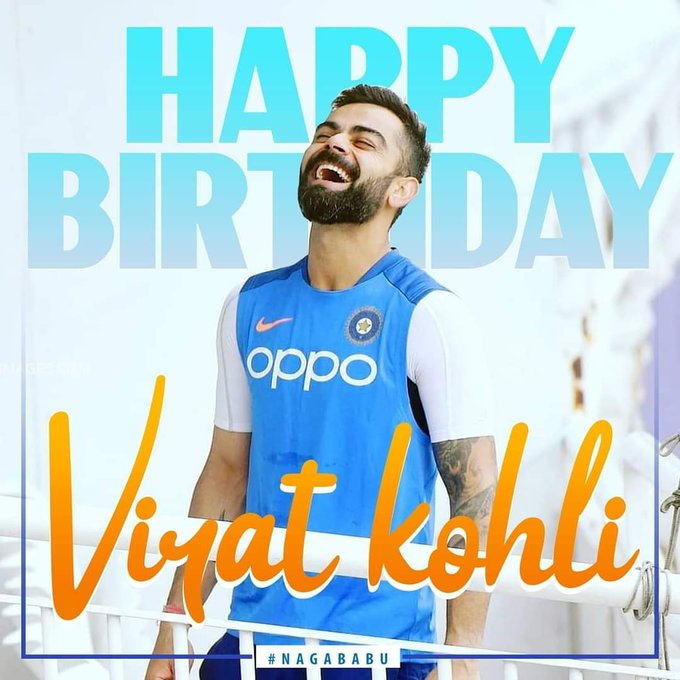Happy Birthday to The Captain Virat Kohli Hit More × Win More