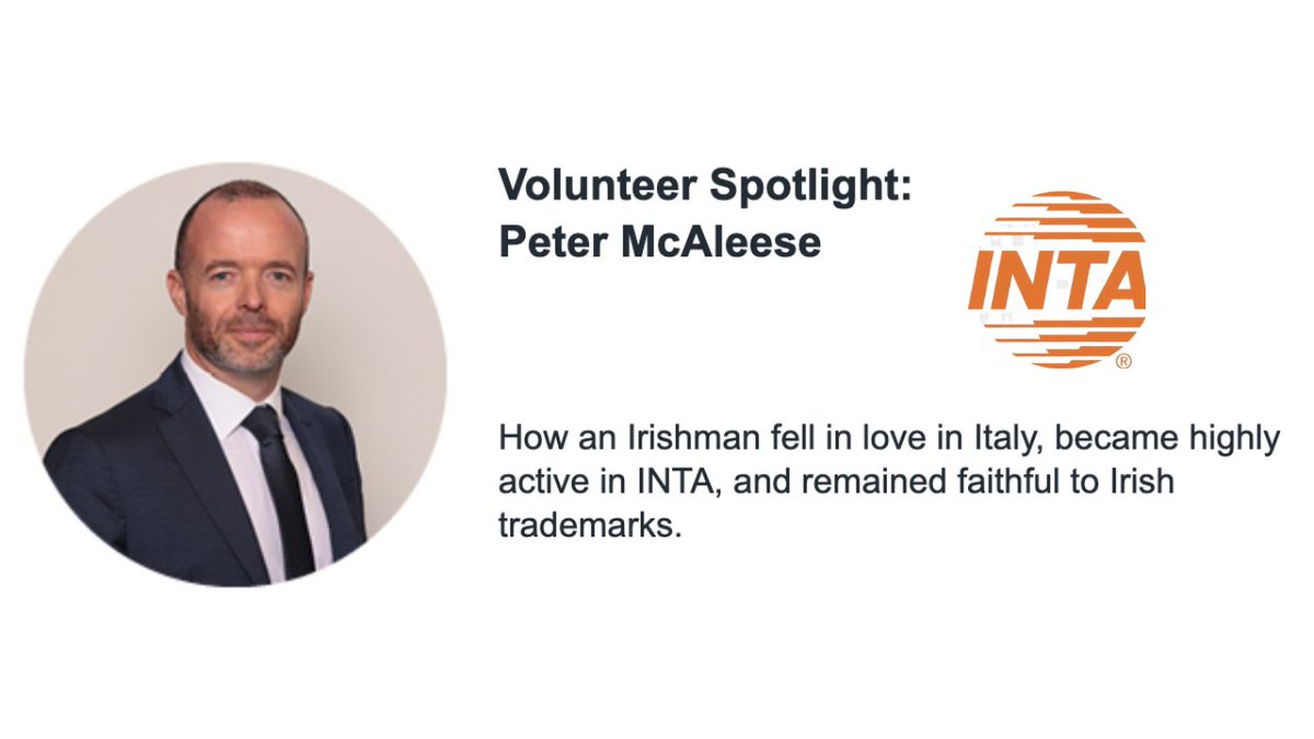 test Twitter Media - How did an Irishman end up practicing law in Italy?  In this Volunteer Spotlight by @INTA our partner Peter McAleese share something about himself  Follow the link to see more 👇https://t.co/jRAtQL4zNw  #partners #iplaw #trademarks #ipstars https://t.co/r6J0aw7bcn