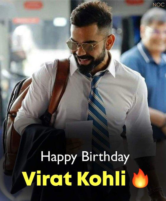 Happy Birthday Virat Kohli  Wishing you happiness and prosperity!