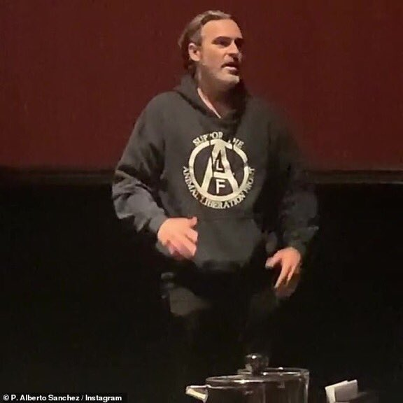 Happy birthday Joaquin Phoenix, actor,film maker,animal activist.