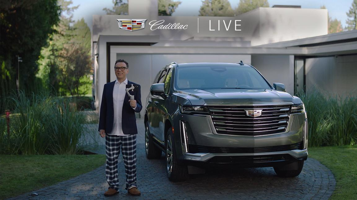 Does Fred Armisen have what it takes to be a Cadillac Live Agent? Tune in to Late Night with Seth Meyers tonight at 12:35 EST /11:35 CST to find out. Be sure to keep an eye out for more on Cadillac Live next week. @LateNightSeth.