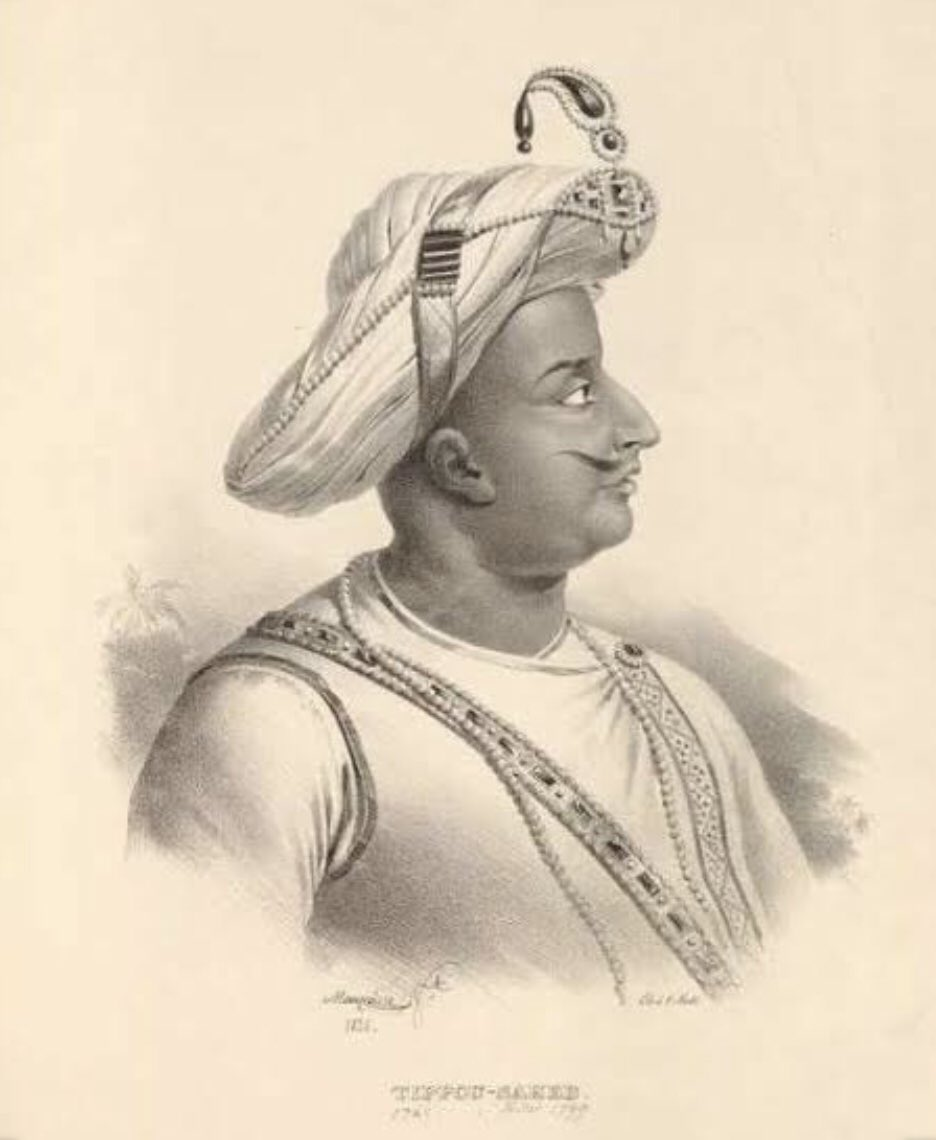 Long before excitable advocates and pamphleteers began proposing India's new-found and undying commitment of support to France lately, Tipu Sultan of Mysore had already established a functioning diplomatic and military relationship with the French, in the 18th century. #Thread