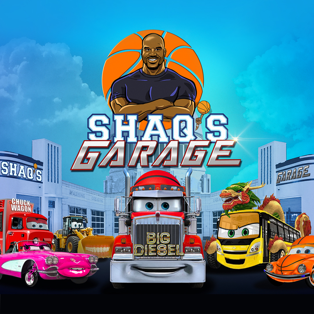 In the new series Shaq's Garage you'll get a chance to meet the amazing, tricked-out assortment of vehicles that can only be found in Shaq's home. Shaq's Garage is a fun, accepting space for everyone. #ExperienceOurEntertainment