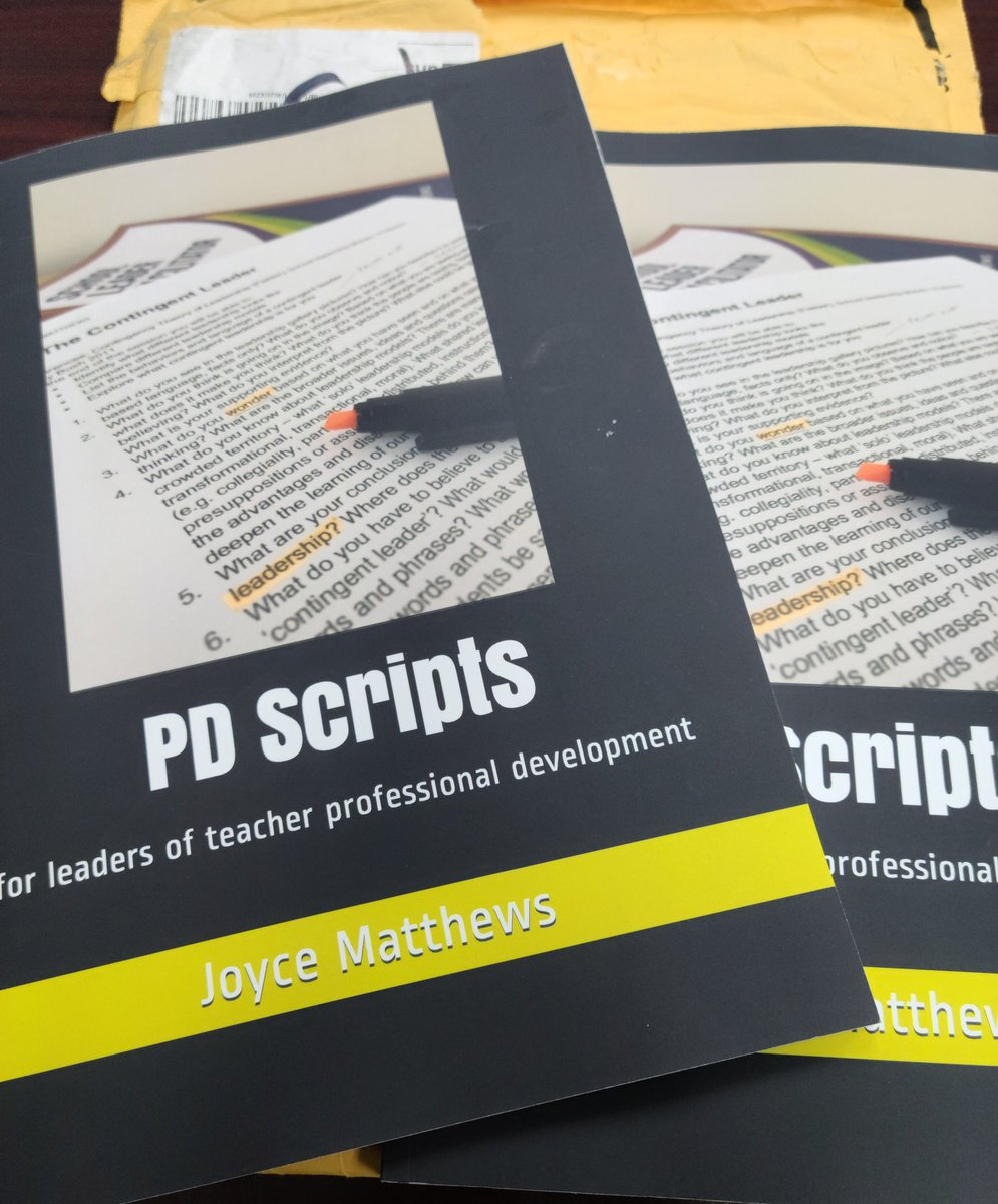 Look what arrived at #WeAreRioHondo... PD Scripts by @JoyceMatthews_.