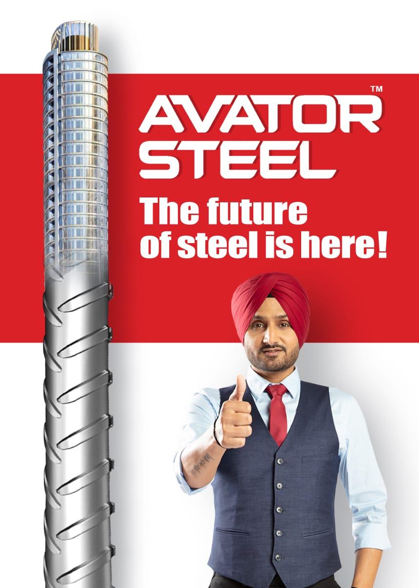 Made with the latest technology, #AvatorSteel's strength is unmatched.   @harbhajan_singh  #HarbhajanSingh