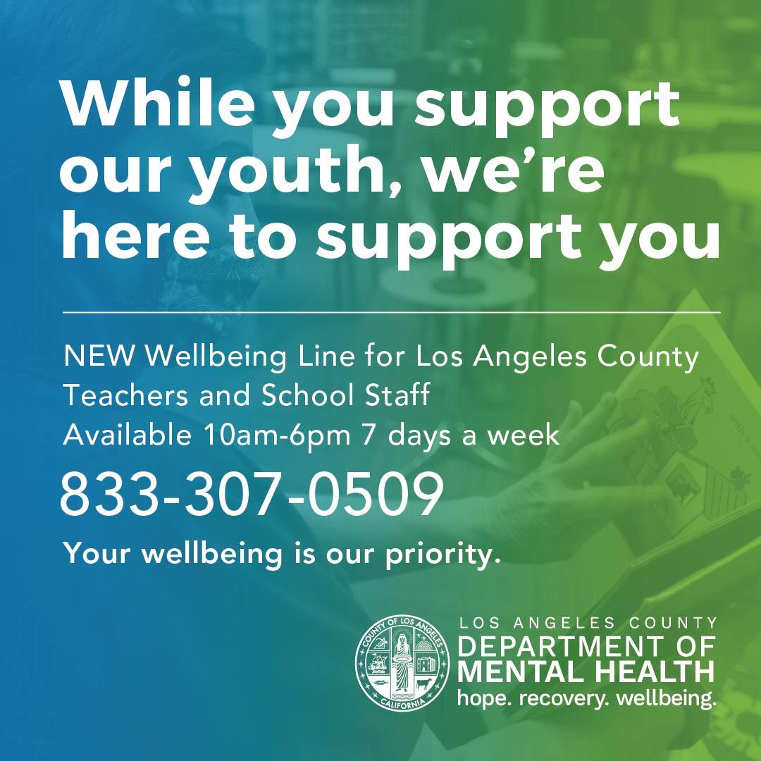 La County Dept Of Mental Health Lacdmh Twitter