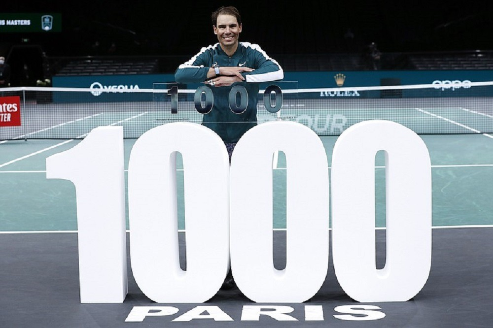 1000 வெற்றிகளை பெற்று ரஃபேல் நடால் உலக சாதனை..!!!!  --->>>   #RafaelNadal #Rafa1000 #VamosRafa #Tennis #GOAT #WinNews #TamilNews