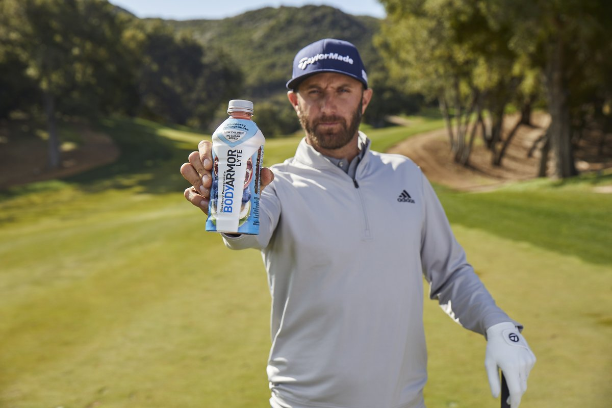 Been looking forward to Augusta all year long. Hydrating with @DrinkBODYARMOR LYTE #TeamBODYARMOR