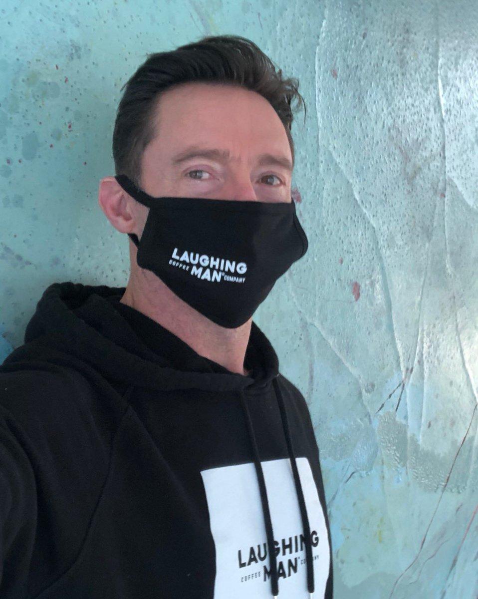 Thursday - in mask fashion. @laughingmanco #MaskUp #please