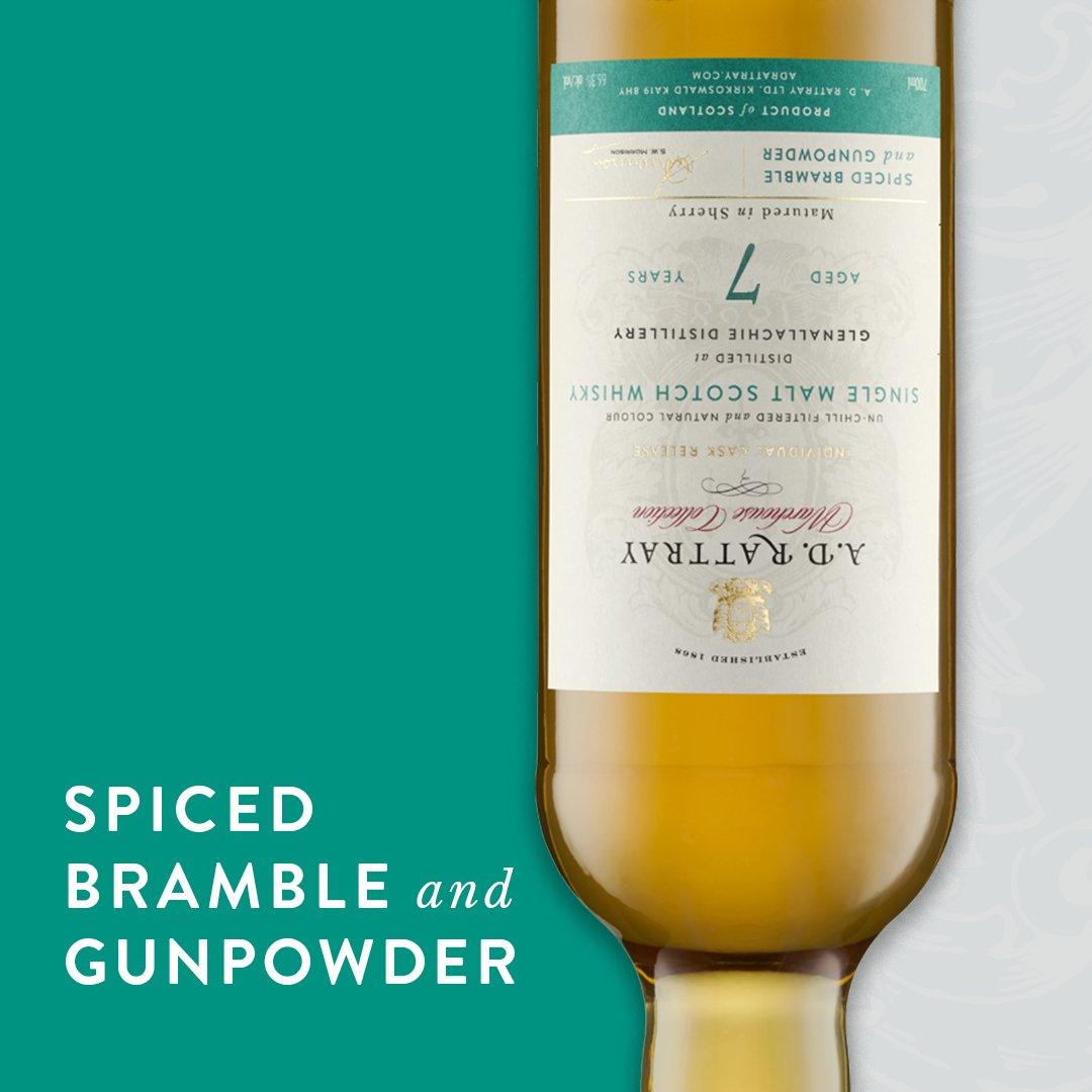 Spiced Bramble and Gunpowder... like Bonfire Night in a dram. #adrattray #warehousecollection #whisky #BonfireNight