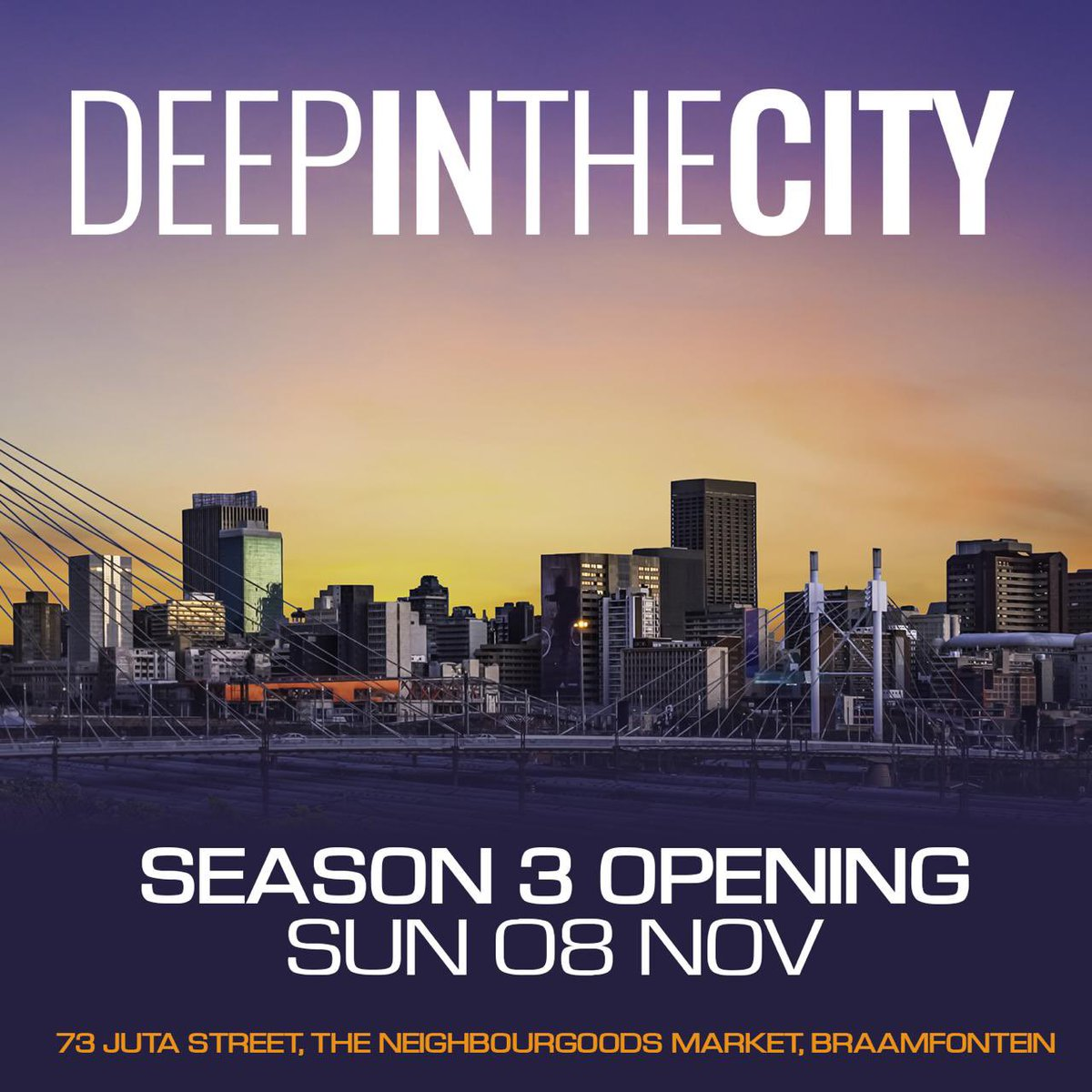 Replying to @RealBlackCoffee: Actually let's start this Sunday.🕺🏿💃🏿 #deepinthecity