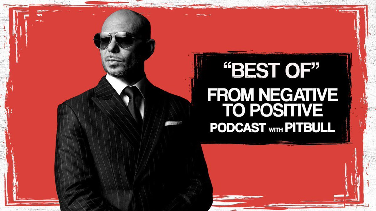 "#NEWS The brand new @Pitbull's Podcast ""From Negative to Positive — Best Of"" featuring Mr. Worldwide himself is now also AVAILABLE on YouTube! #MrWorldwide #Pitbull #FromNegativeToPositive ⠀⠀⠀⠀⠀⠀⠀⠀⠀ Watch it here:"