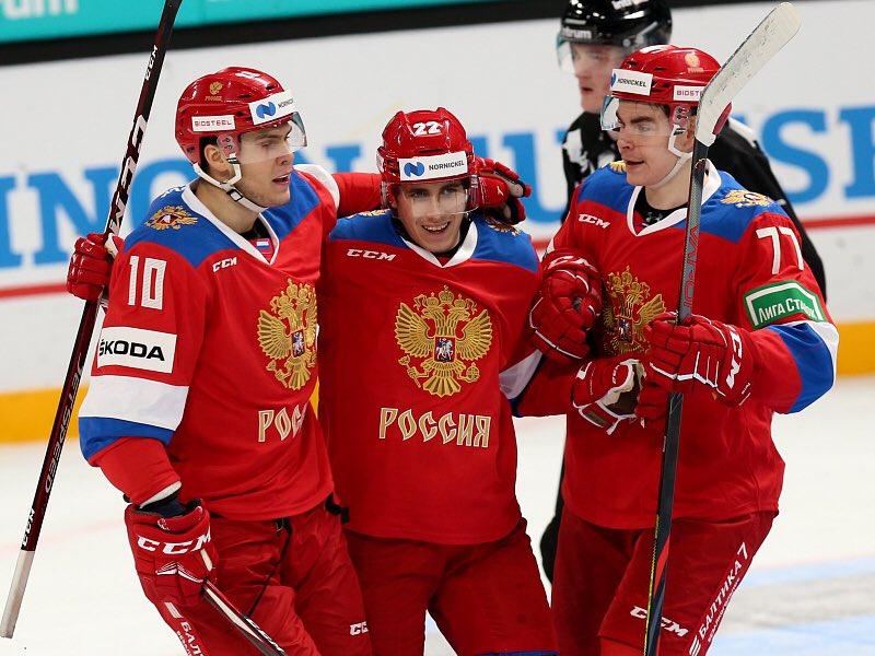 "Russia Hockey on Twitter: ""6:2! Producing a wonderful performance, our  senior national team claimed a confident victory against Finland at the  Karjala Cup! Rodion Amirov, Marat Khusnutdinov, Ilya Safonov, Daniil  Chayka, Yegor"