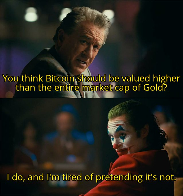 joker bitcoin marketcap meme