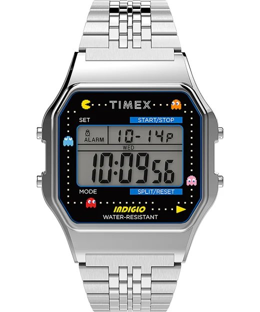 #Geek 🤓 Awesome of the Day ⭐ ➡️ @Timex T80 x #PACMAN 34mm Stainless Steel Bracelet #WristWatch⌚ via @platzmania #SamaWatch 🕗 #SamaGeek 🧐 ➡️ View More Selections 👉 https://t.co/Kugls40kPu