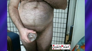 Hot video for an awesome fan on XTube! Coach Karl Tries Out His New Fleshlite Quickshot #coach_karl #xtube