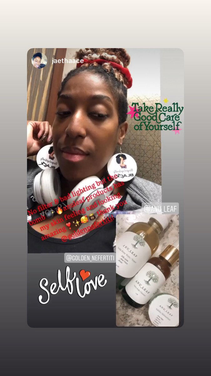 Customer Appreciation. They loved our free earrings that came with their order . #supportsmallbusiness #supportwomenrunbusinesses #BlackOwnedBusiness #NaturalSkincare #skincareroutine #skincareproducts