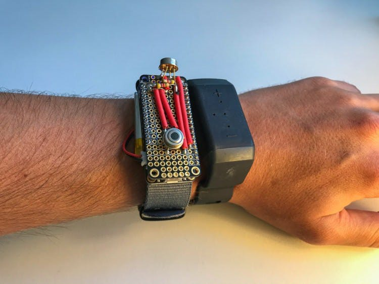 Gain Predator-like thermal sensing with @Neosensory's haptic feedback wristband: