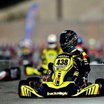 On pole for the heats tomorrow 💥 Field is close 😬 #Vegas #Karting