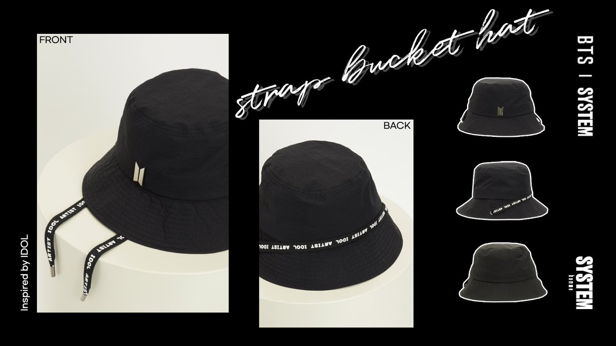 System Official On Twitter Bts System Last Collection Accessory Products All In Two Male Hats Two Female Hats And Bags We Have All Been Waiting For 너자체로멋있다 Bts Rm Jin Suga